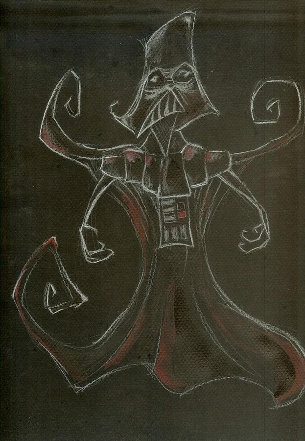 Star Wars Burton Style : Darth Vader