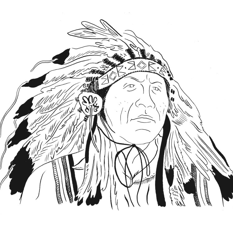 Chief Arvol Looking Horse Chief of the Sioux Nation