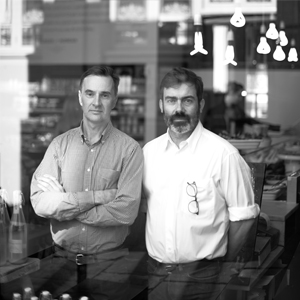 IAN JAMES & NICK SELBY FOUNDERS OF MELROSE & MORGAN