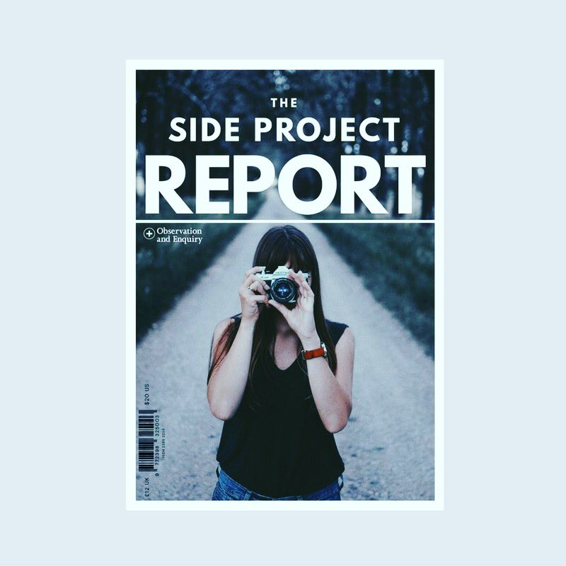 PRE-ORDER TODAY. THIS IS THE 144-PAGE REPORT THAT WILL BE LAUNCHED AT DO SIDE PROJECT. MARCH 03. LONDON. (PHOTO CREDIT: EZRA JEFFREY. IMAGE SOURCED FROM UNSPLASH.