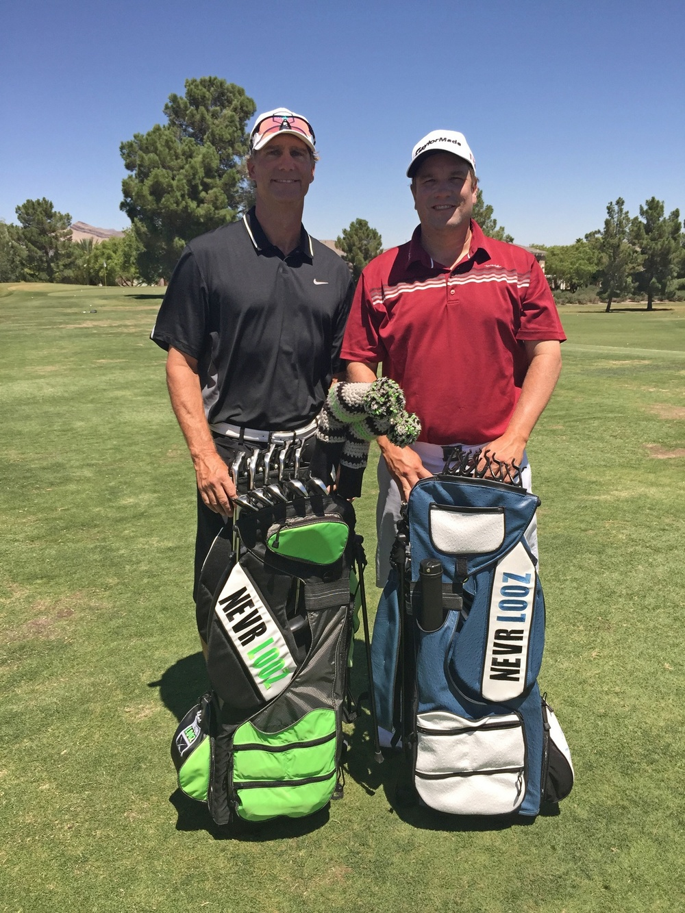 PGA Tour veteran CRAIG BARLOW endorses NEVR LOOZ. -