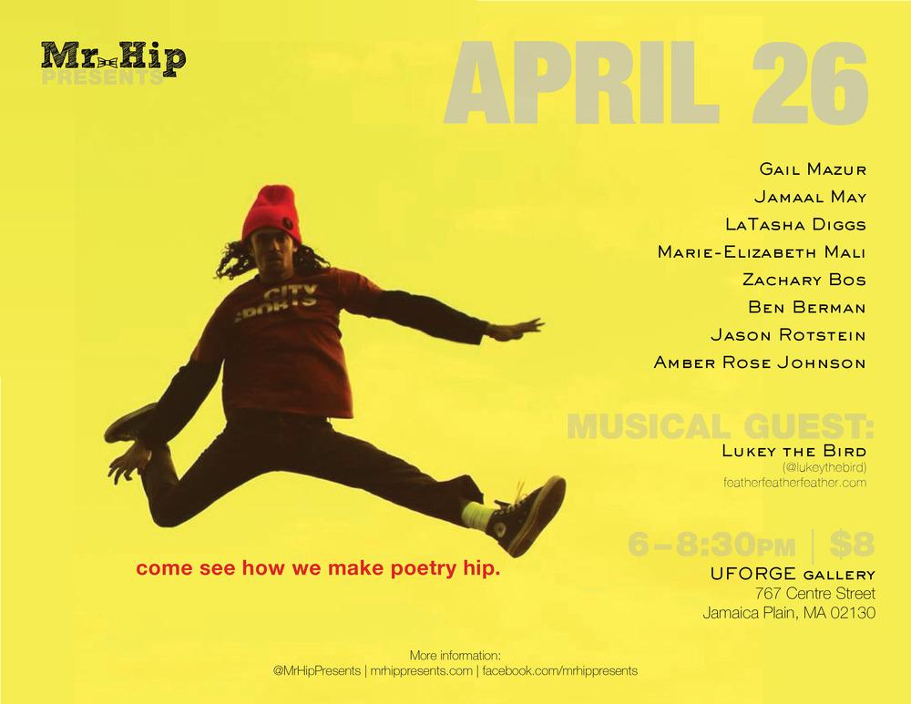 April Flyer