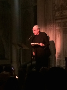 Frank Bidart reading from Metaphysical Dog
