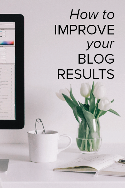 improve blog results