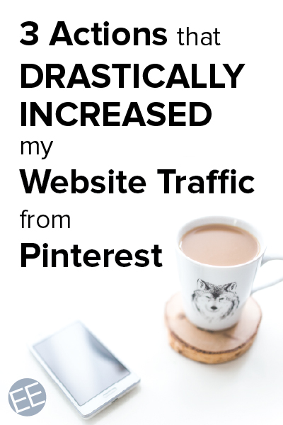 Bloggers and entrepreneurs - do you have a Pinterest strategy? I didn't until last month, but 3 actions drastically increased my repins and grew my followers. Want to know what I did? Click through to find out - they are easy actions you can take, too.