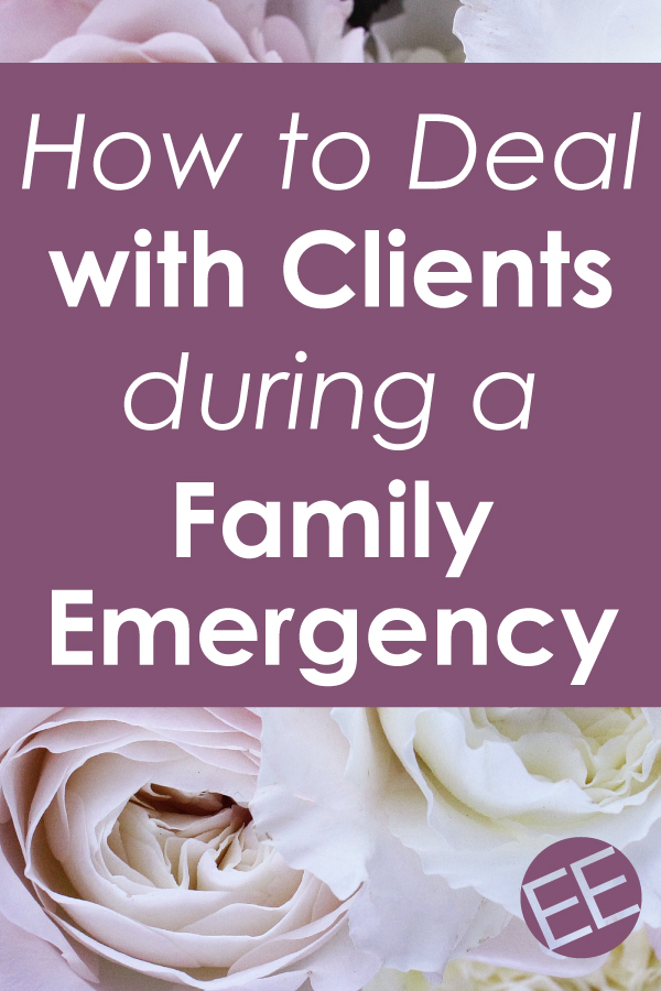 As an entrepreneur, it can be tough to try to handle a family emergency without feeling like you're abandoning clients. Click through to find out how to maintain a good client relationship while tending to your family.