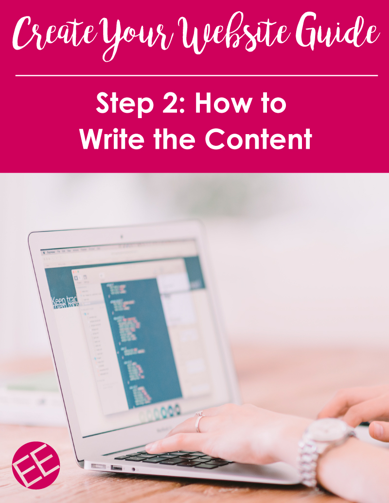 Hey entrepreneurs, your website needs copy! Here's how to get started writing the text for your new website.