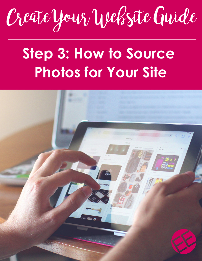 Website Creation Guide: How to Find Photos for Your Website