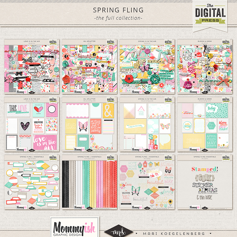 Spring Fling | The Full Collection by Mari Koegelenberg & Mommyish