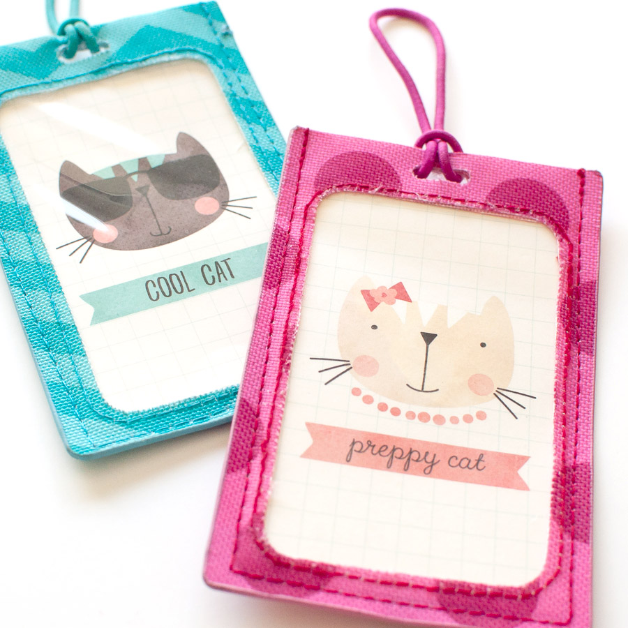 Easy DIY Hybrid Tutorial | Luggage Tags