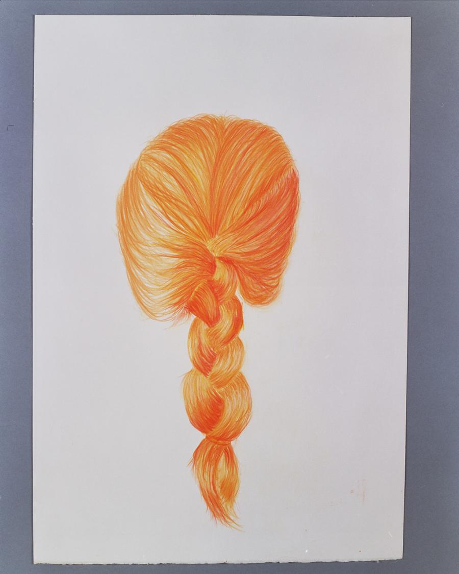35x50cm  עפרונות צבעוניים על נייר  Colored pencils on paper