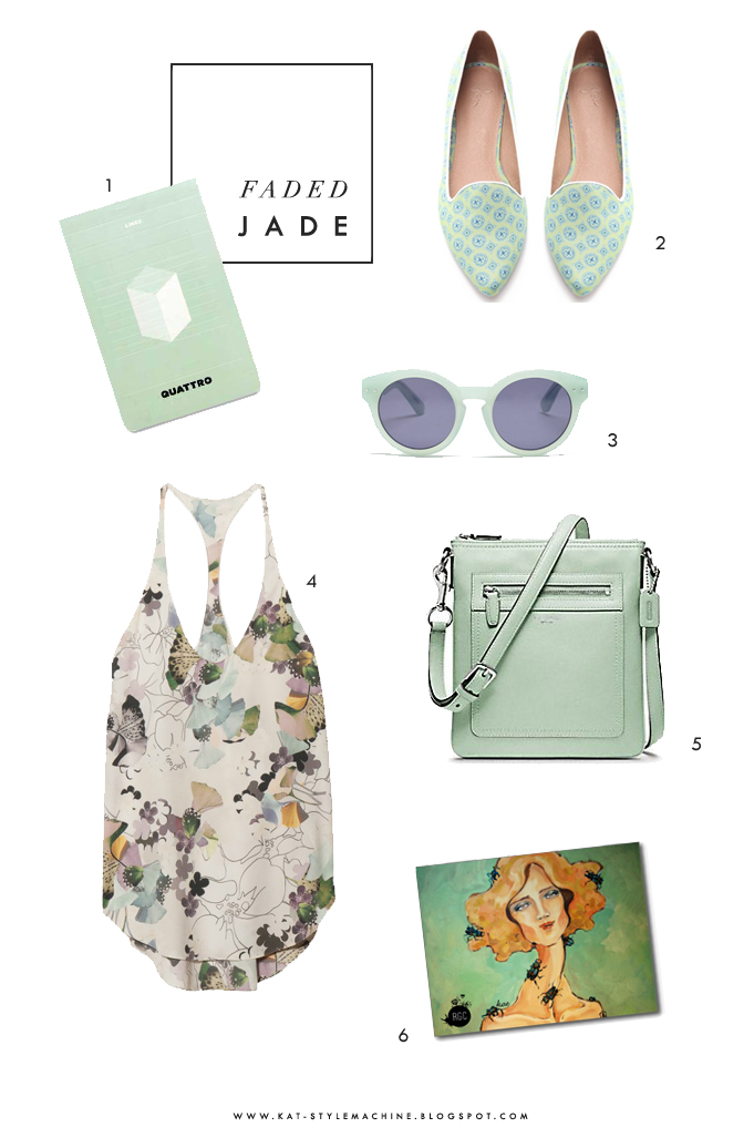 Faded Jade  |  Style Picks