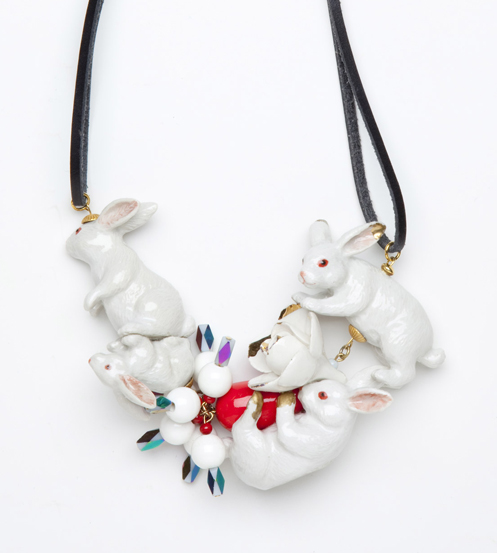 Clustered Porcelain Rabbits