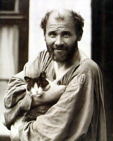 Gustav Klimt & Kitty