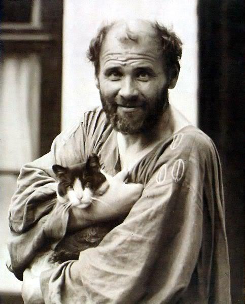 Gustav Klimt & Kitty