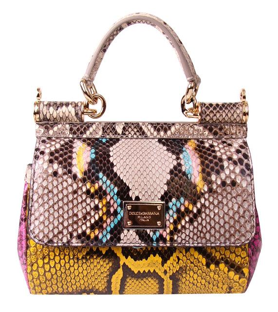 Dolce & Gabbana Snakeskin Bag