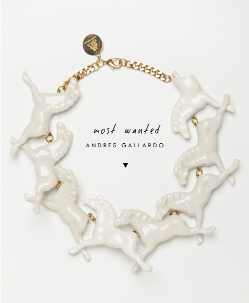 Most Wanted | Porcelain Jewelry by Andres Gallardo