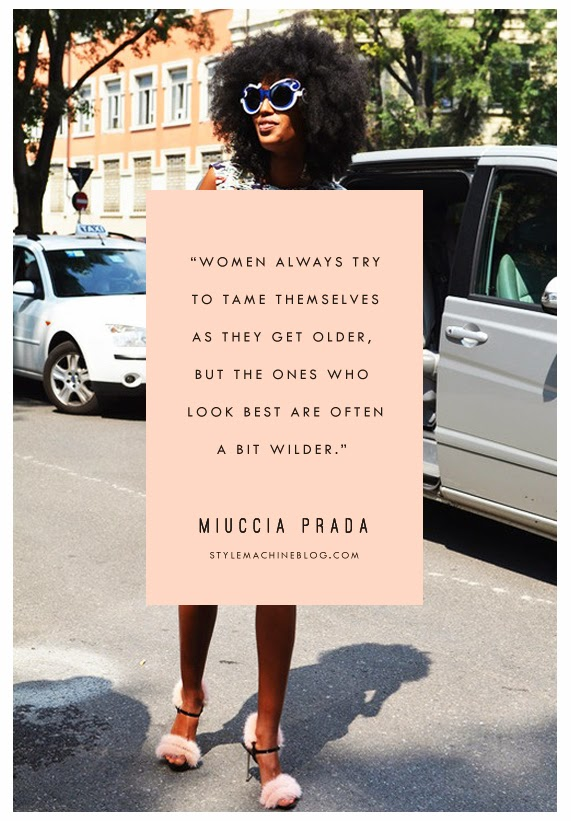 Miuccia Prada  |  Thoughts for Style