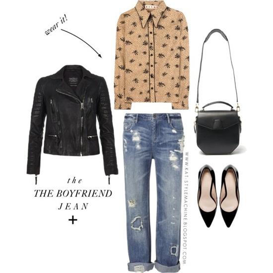 How To Wear It | The Boyfriend Jean
