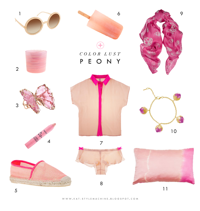 Style Finds with a Dash of Peony Pink