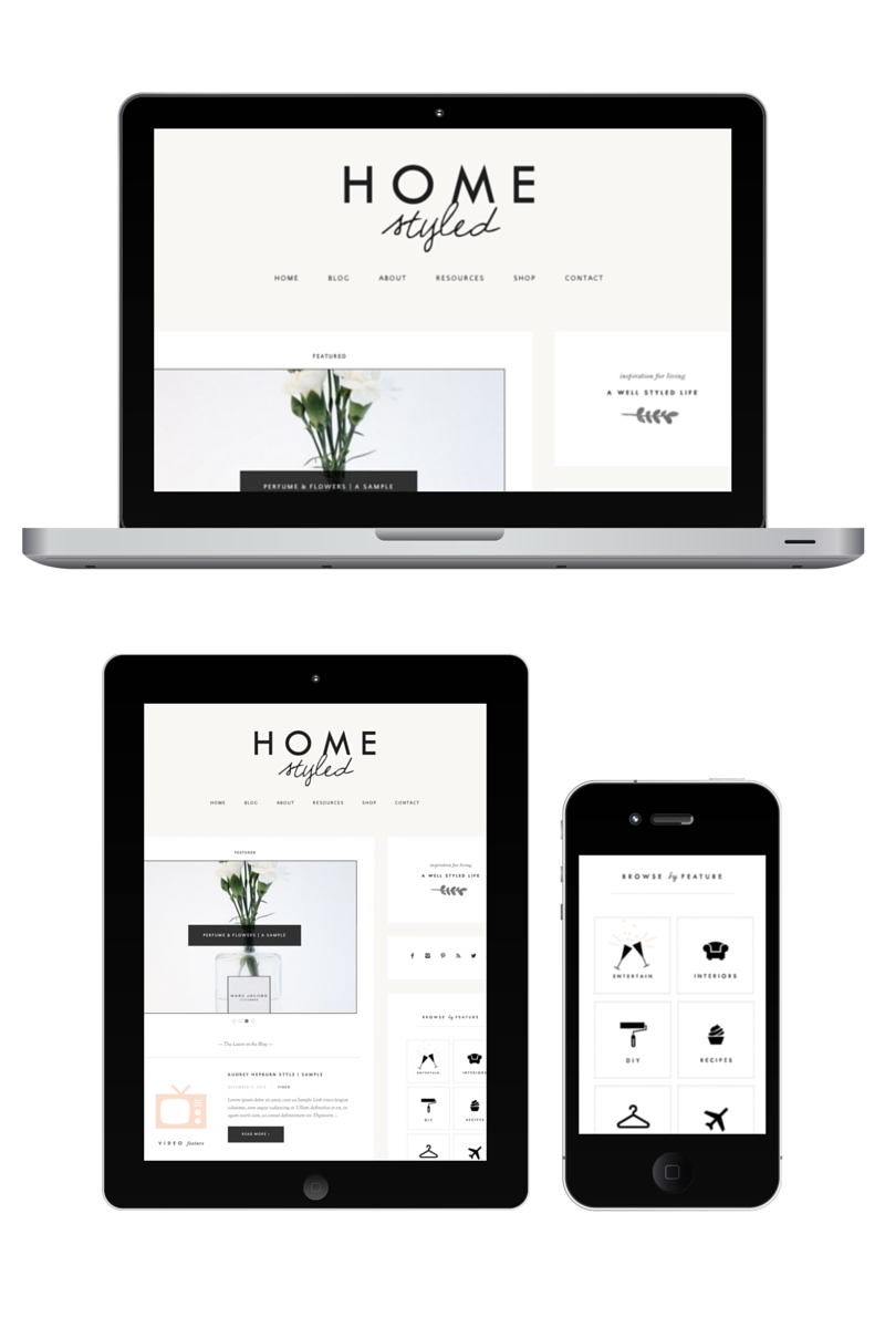 homestyled-website-design