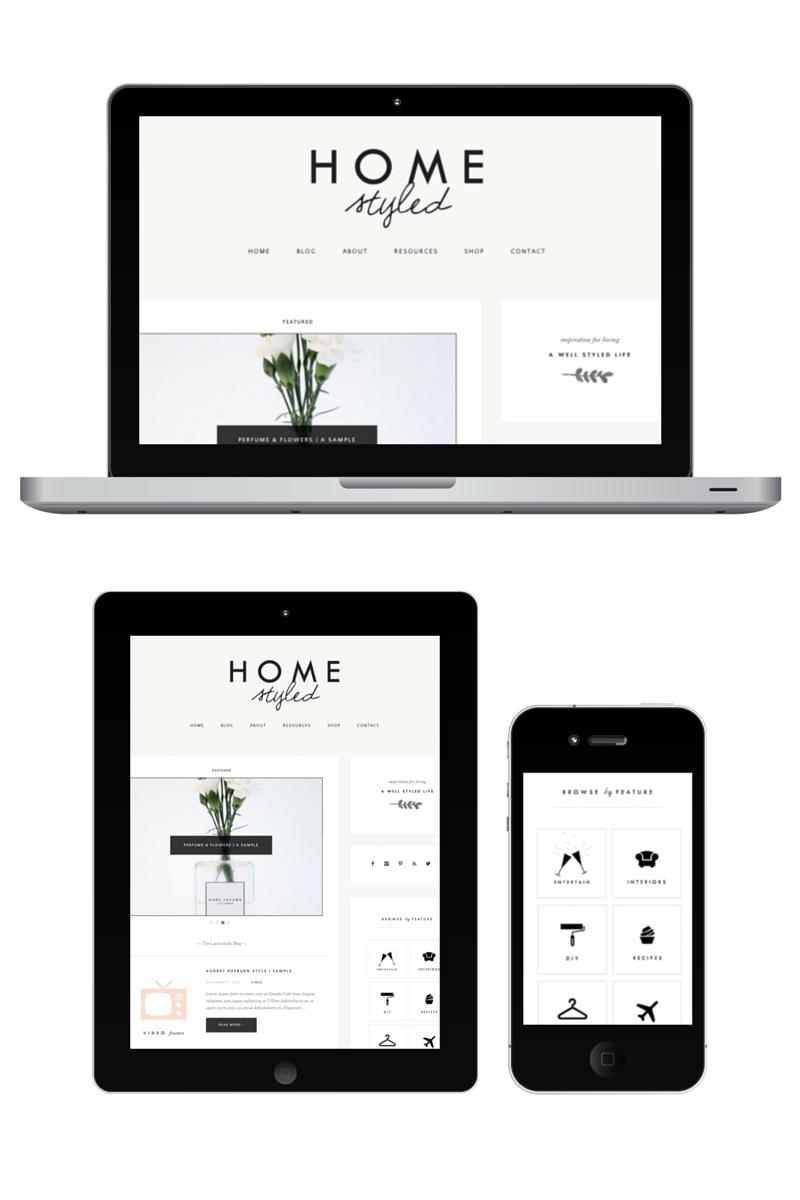homestyled-website-design