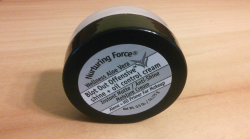 Nuturing Force Blot Out. This is the best face primer...it pretty much does it all.