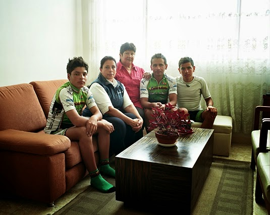 Esteban Chaves' family (photo: Manual For Speed)