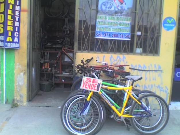 Colombian bike shops knowledge and colnagos with a for Motorized bicycle shops near me
