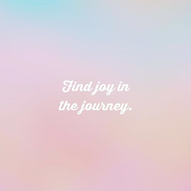 Find joy in journey and you'll find more joy in your life! #joy #jouney #livewell