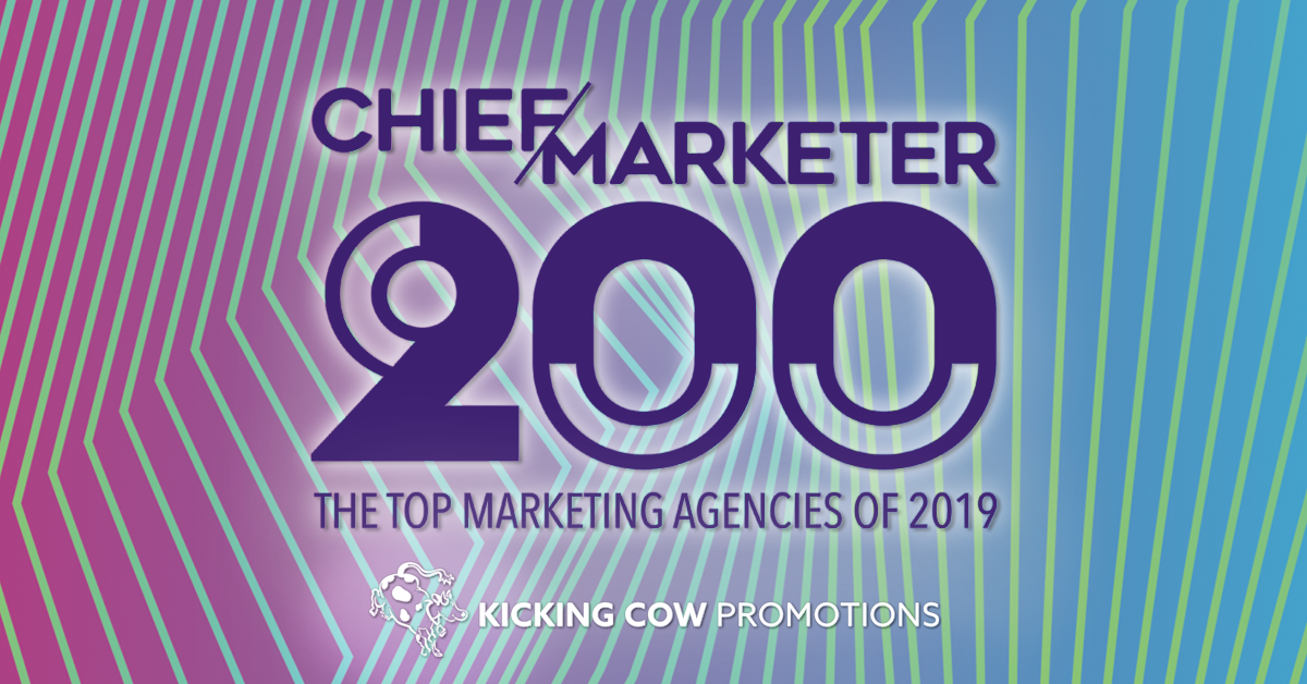 Kicking Cow Named Top Non-Advertising Agency 2019 — Kicking Cow