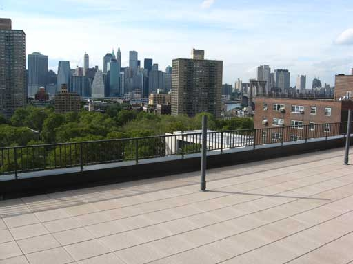 Roof deck with stunning views