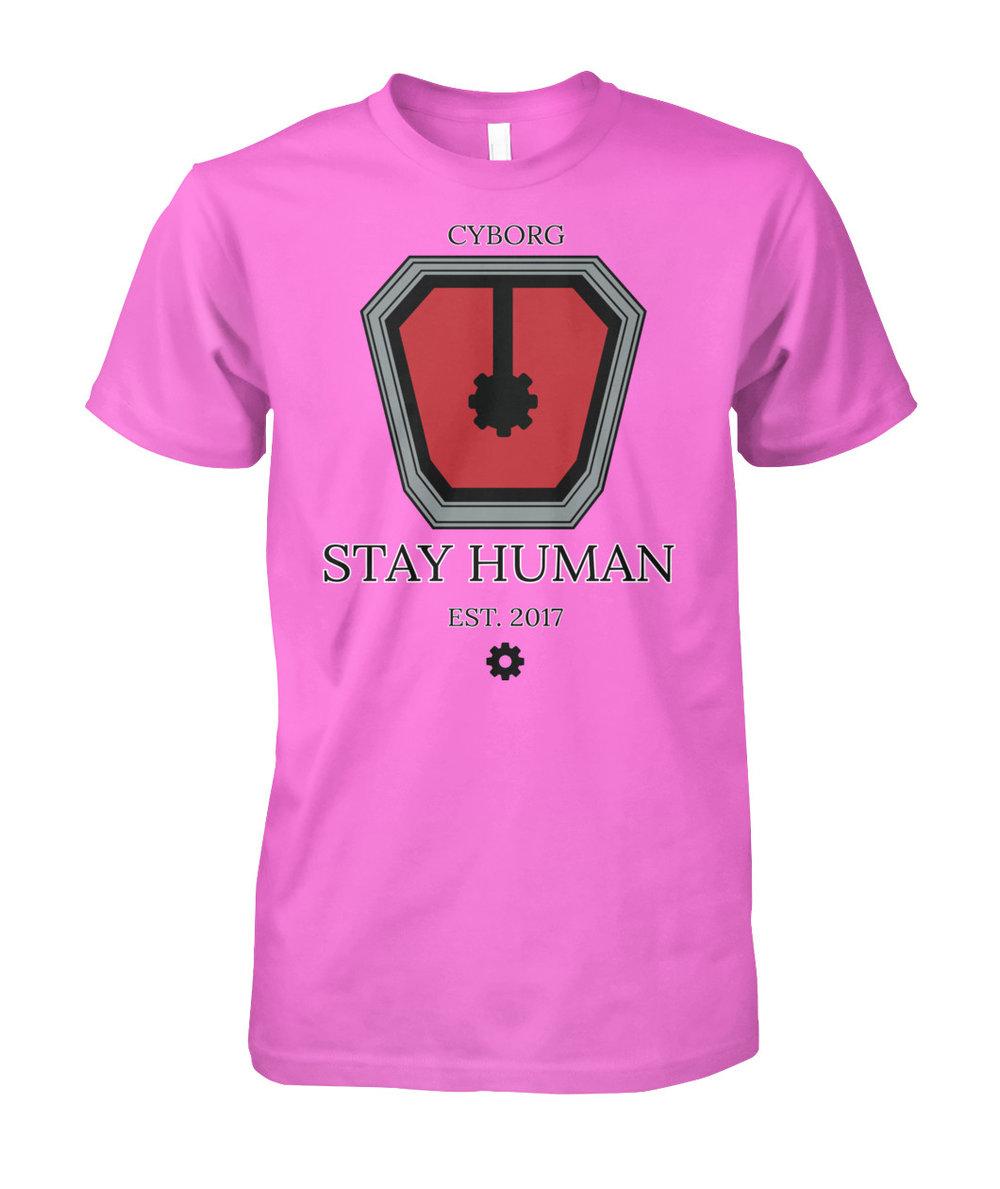 Take the pledge. Remain organic. Stay human. -
