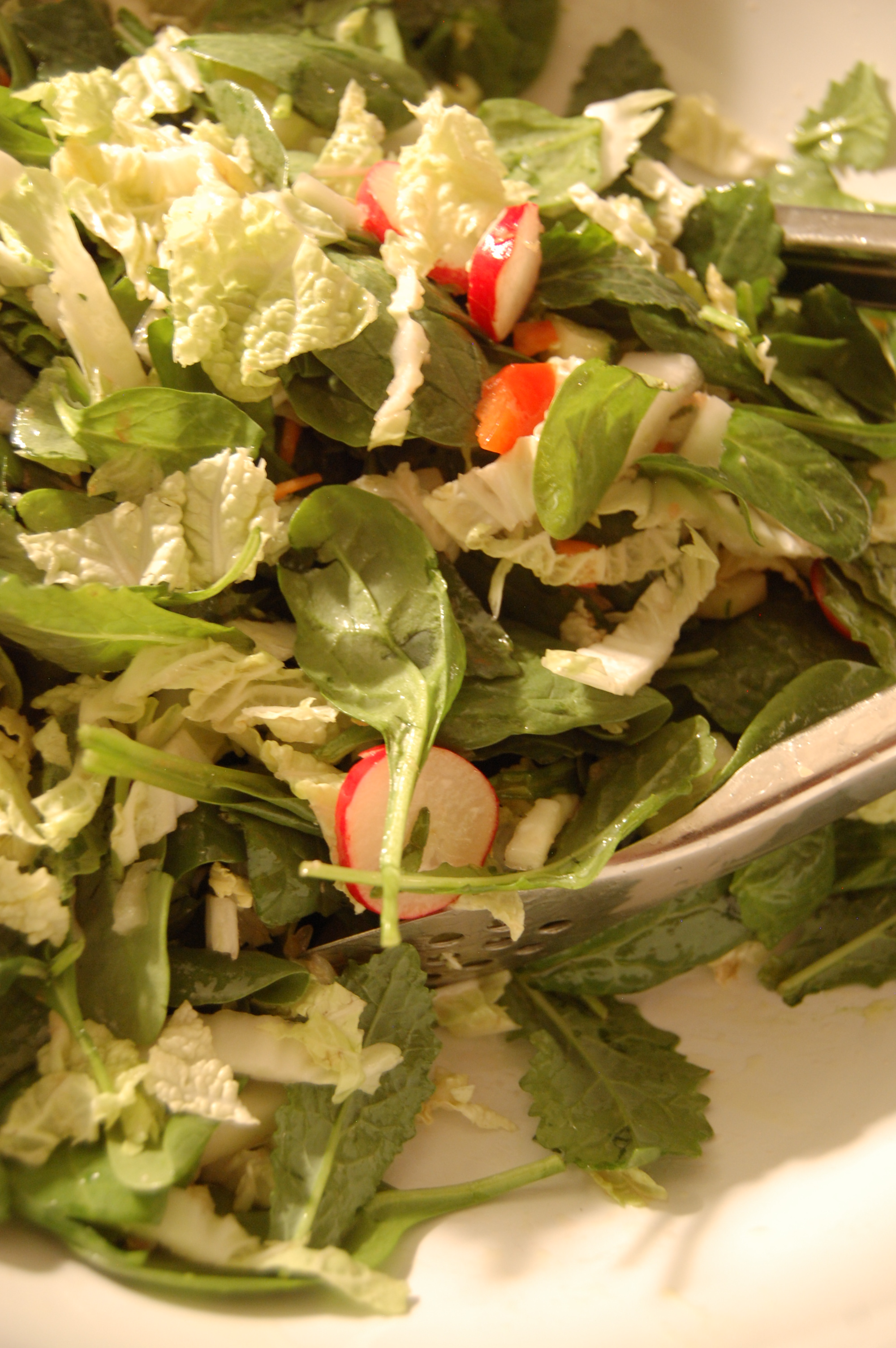 the family that SALADs together, is HEALTHY together — thrifty good life