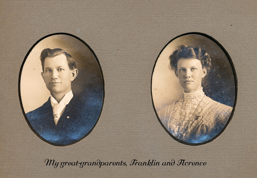 Franklin and Florence Troutner