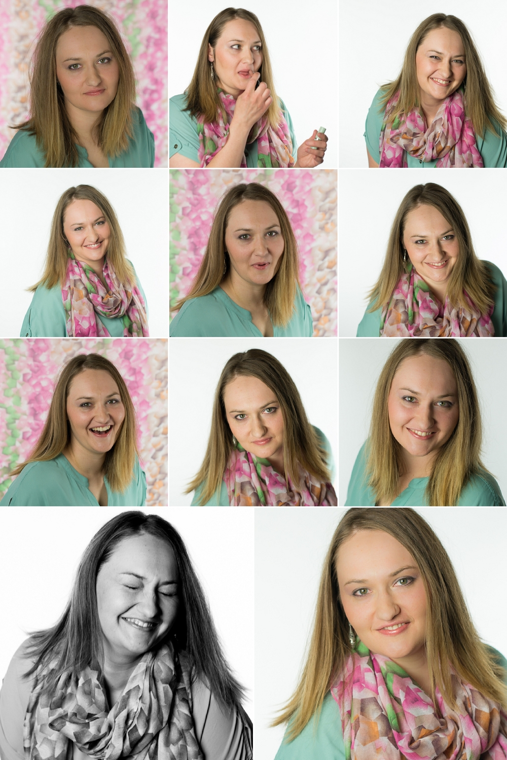 "The beautiful Hannah! Talking about the ""hands"" is what made her laugh in some of these pics!"