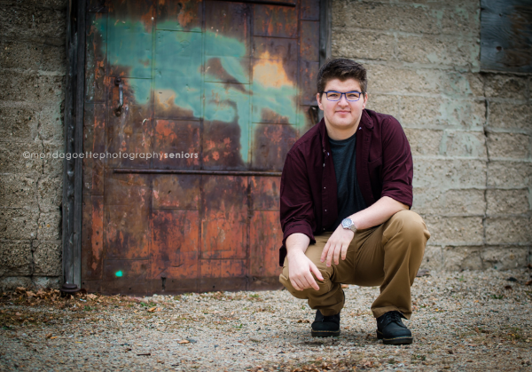 Hunter, Class of 2016 Senior
