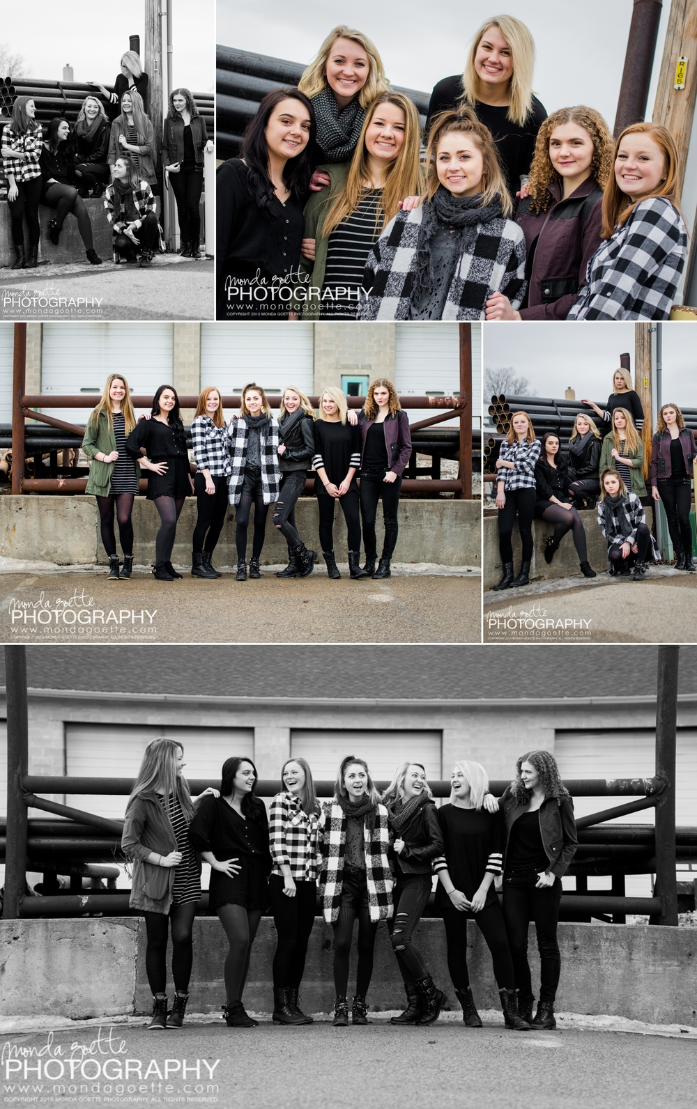 seniors-in-group-Minnesota-high school-photographer