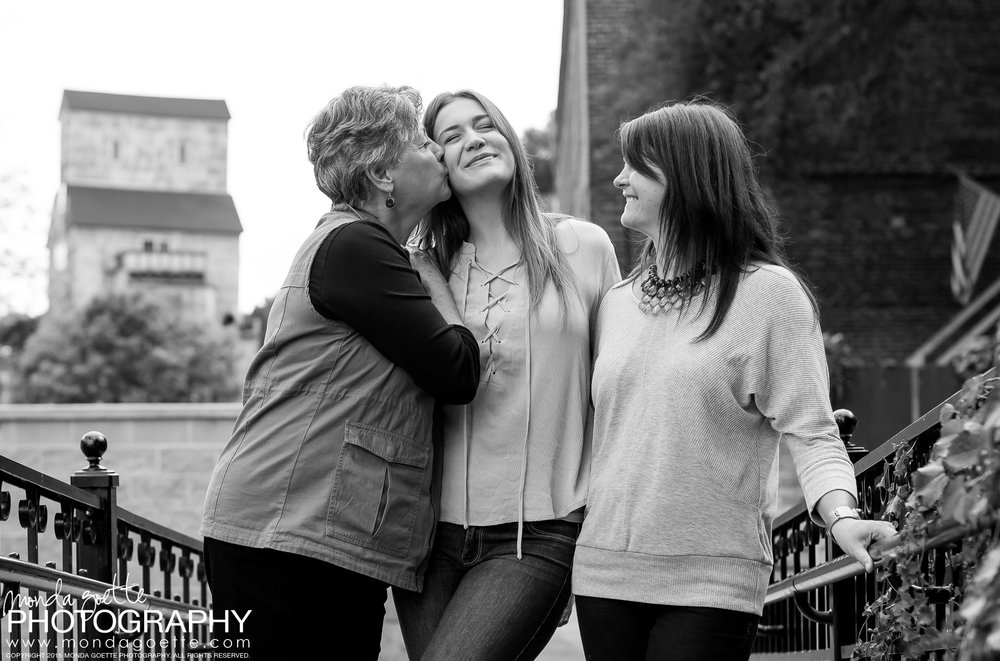 Aww, so sweet! - Josie along with her grandma and mom!