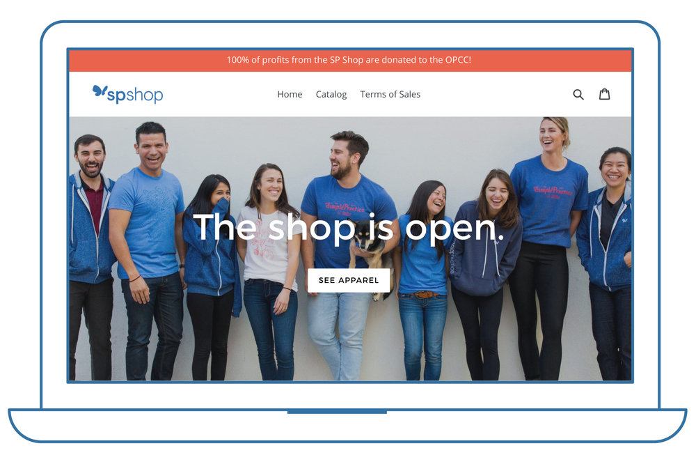 The SimplePractice Shop