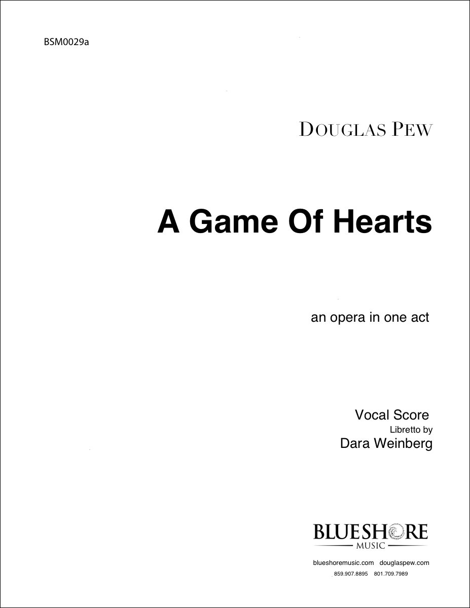 A Game of Hearts, an opera in one-act