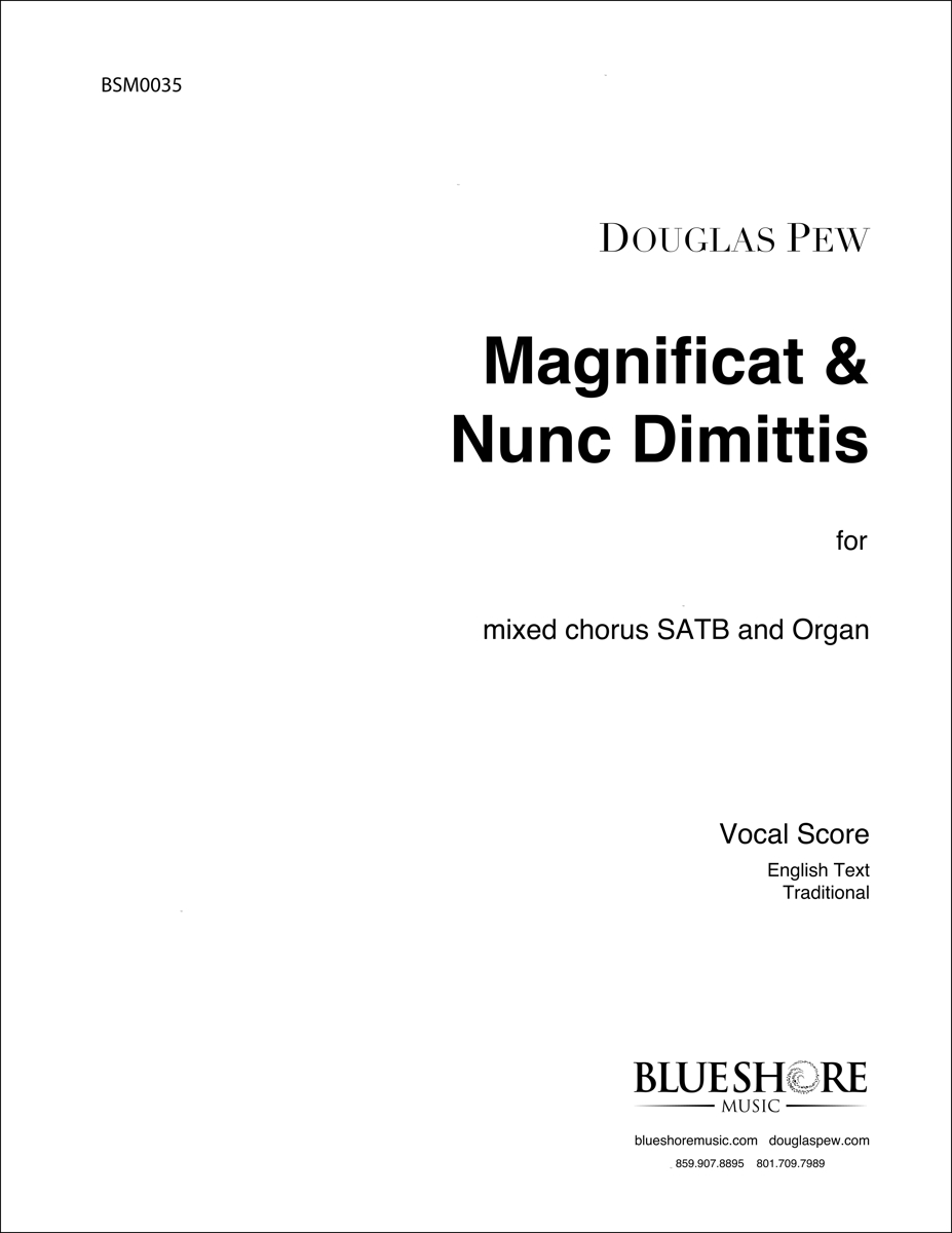 Magnificat & Nunc Dimittis (St. Thomas Service) for SATB and Organ