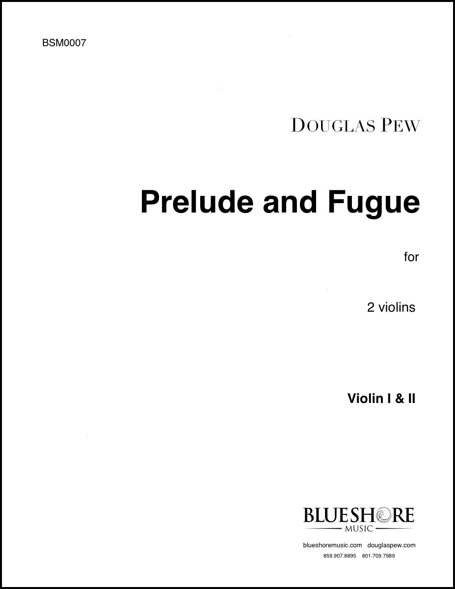 Prelude and Fugue, for 2 Violins