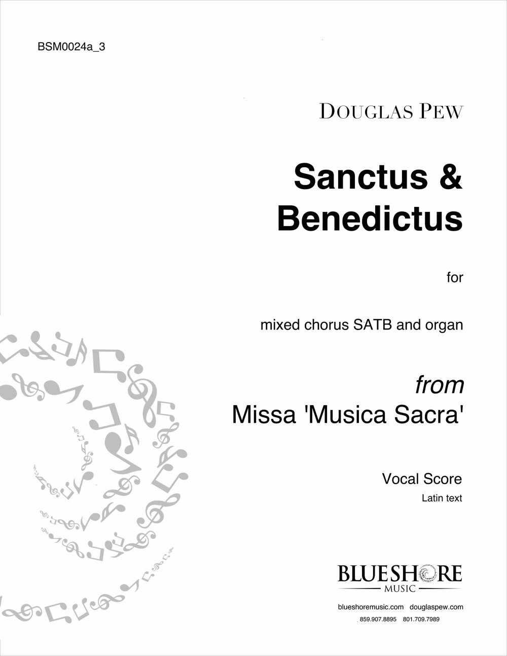 Sanctus & Benedictus - SATB and Organ