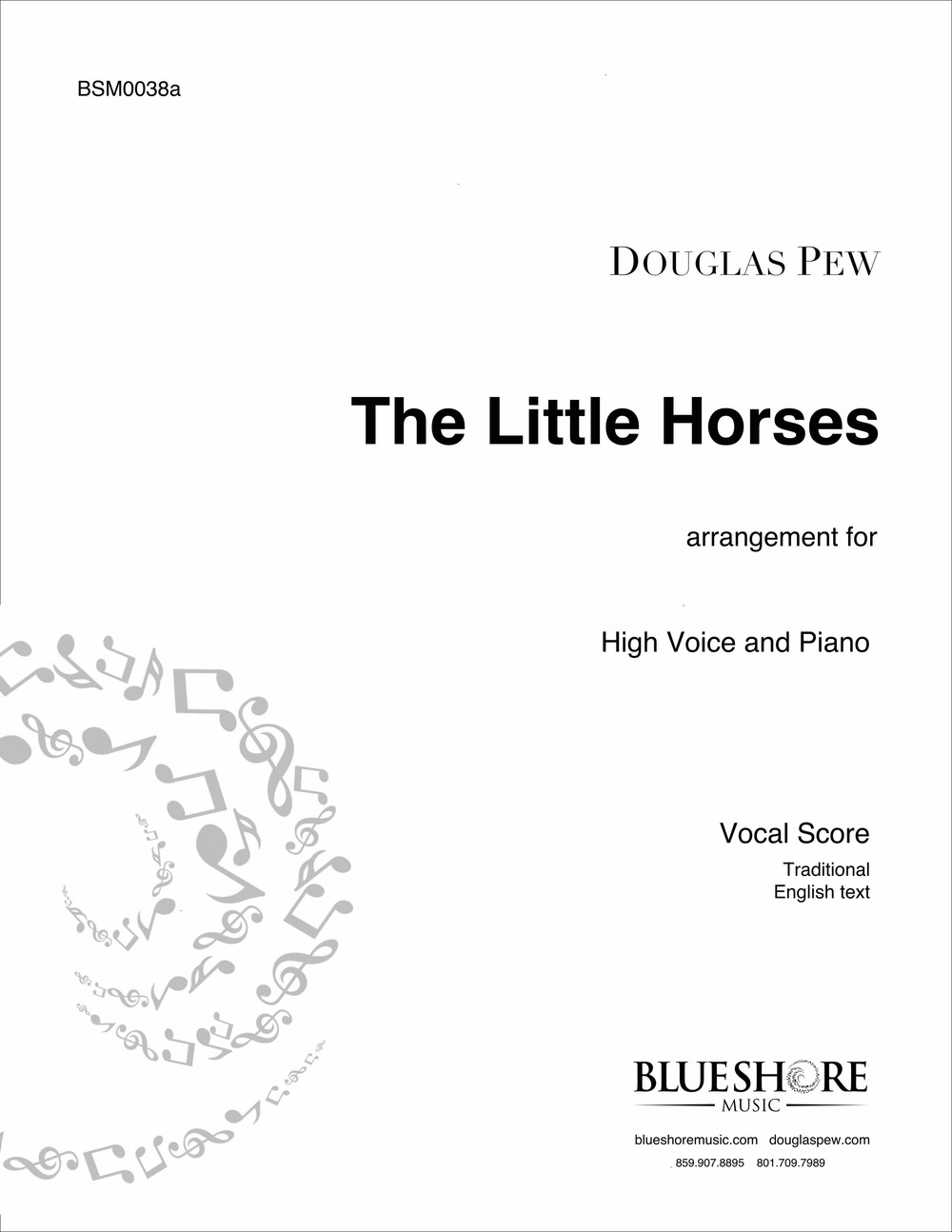 The Little Horses - American Folk Song arr. for SATB and Piano