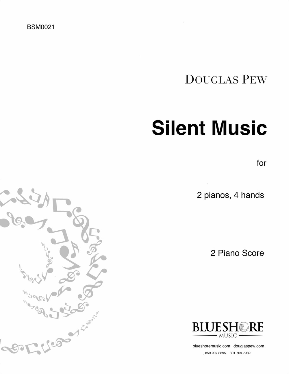 Silent Music, for 2 Pianos, 4 Hands