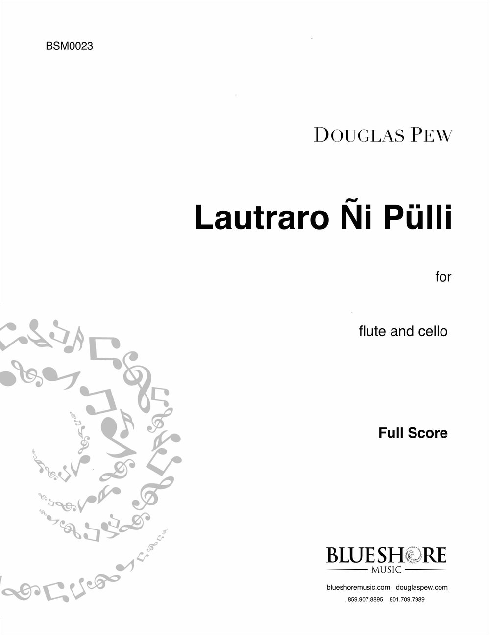 Lautraro Ñi Pülli, for Flute and Cello