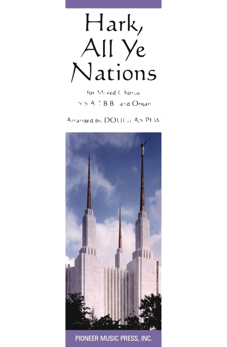 Hark, All Ye Nations - SATB and Organ