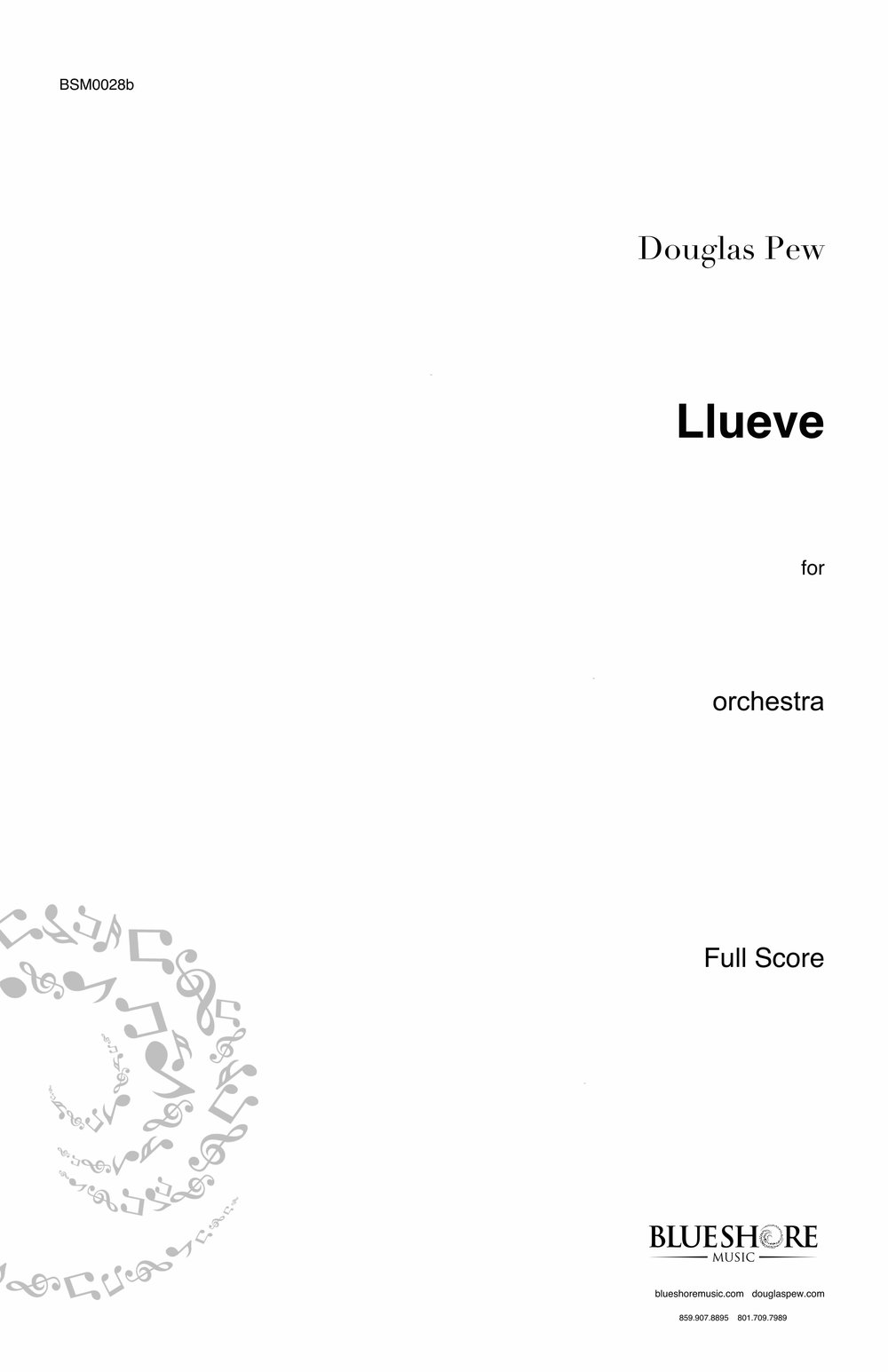 Llueve,  for Orchestra