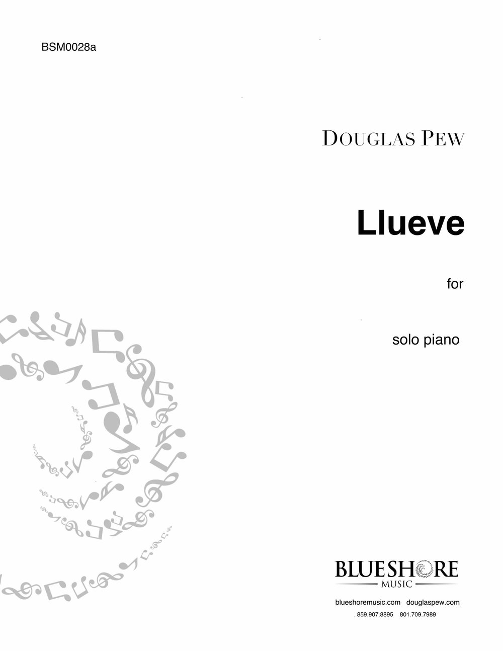 Llueve, for Solo Piano